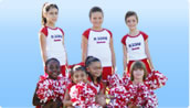 Values in youth sports. Cheerleading.